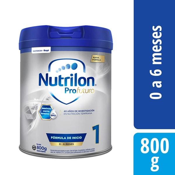 Leche Nutrilon 1 Pro Futura Lata X 800 Gr