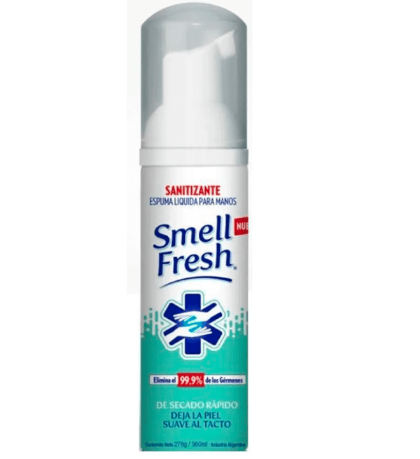 Smell Fresh Sanitizante Espuma Liquida para Manos x81ml
