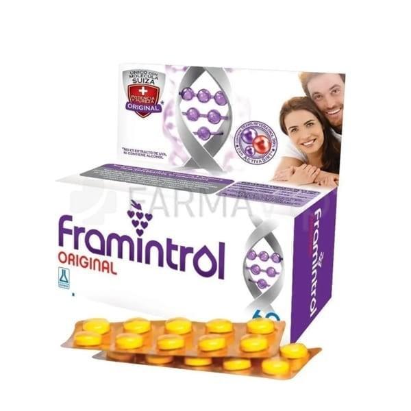 Suplemento Framintrol Original 30 Comprimidos