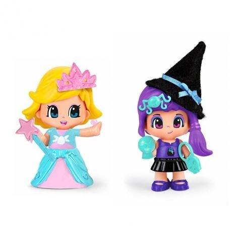 Figuras Pinypon Bruja Y Princesa Con Accesorios x2 alt