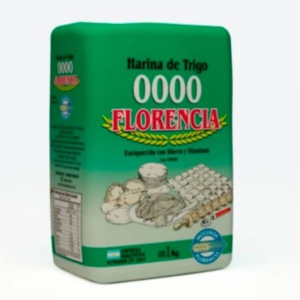 HARINA COMUN 0000  FLORENCIA.x 5 KG