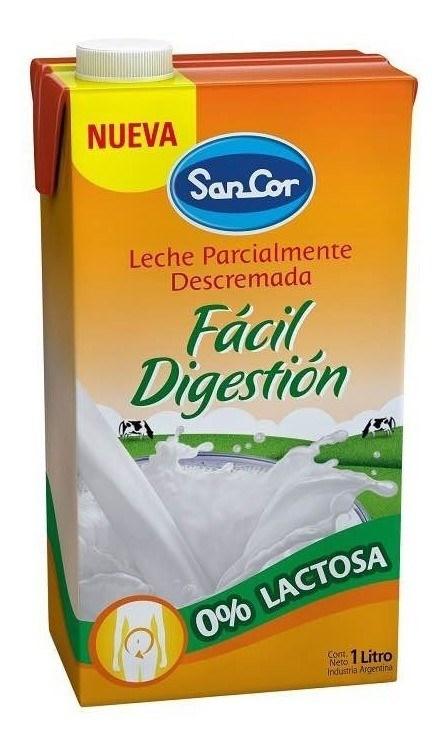 LECHE SANCOR DESLACTOSADA UAT x 1 L