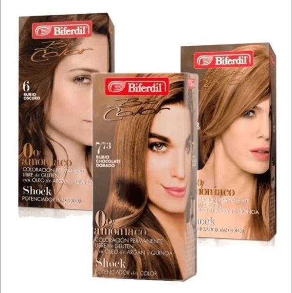 Tintura Biferdil Biocolor 0% Amoniaco