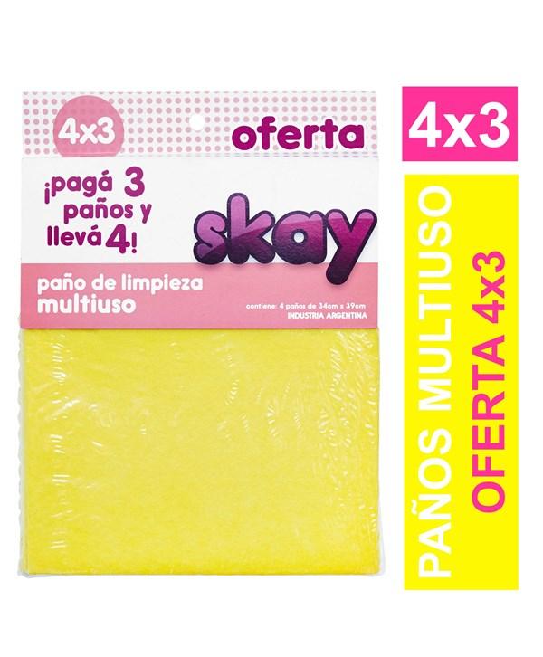 PANO ABSORBENTE SKAY 3X4 x 34 X 39 CMS