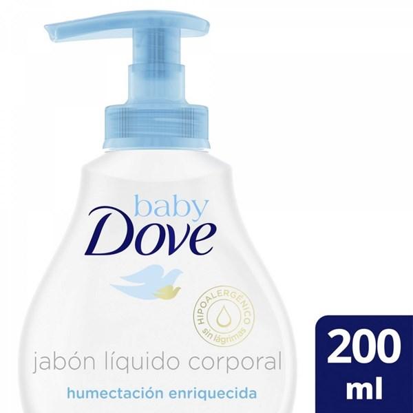 Dove Baby Jabón Liquido x 200ml Hidratación Enriquecida