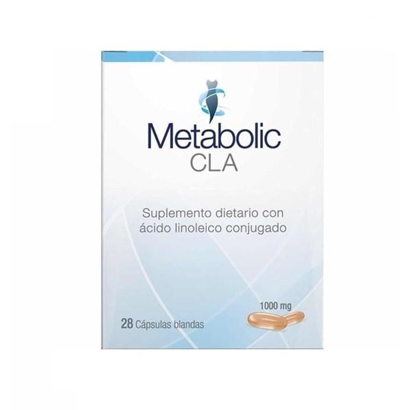 Metabolic CLA 28 Cápsulas Blandas