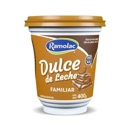 DULCE DE LECHE RAMOLAC x 400 G