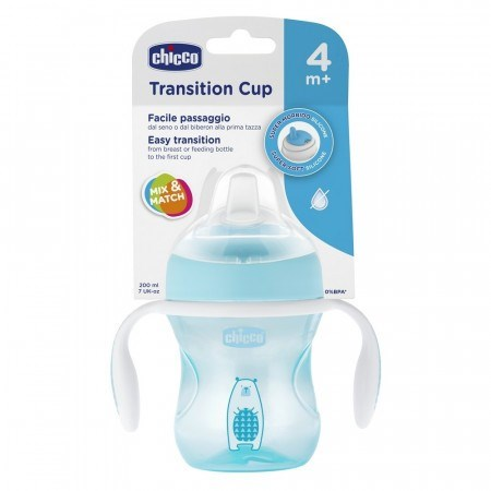 Vaso Transition Cup Chicco 4+ Meses