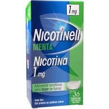 Nicotinell Pastillas Menta 1 mg x36 Pastillas