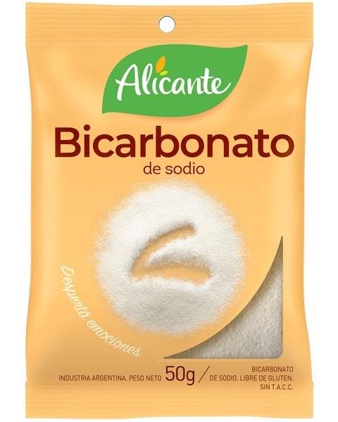 BICARBONATO DE SODIO ALICANTE x 50 G