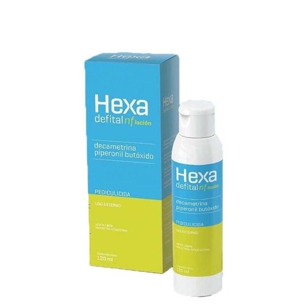 Hexa Defital Nf Locion Tratamiento Para Pediculosis 120 Ml