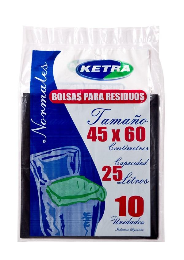 BOLSA RESID.K 45X60 x 10 U
