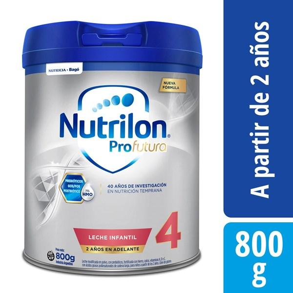 Leche Nutrilon 4 Pro Futura Lata X 800 Gr