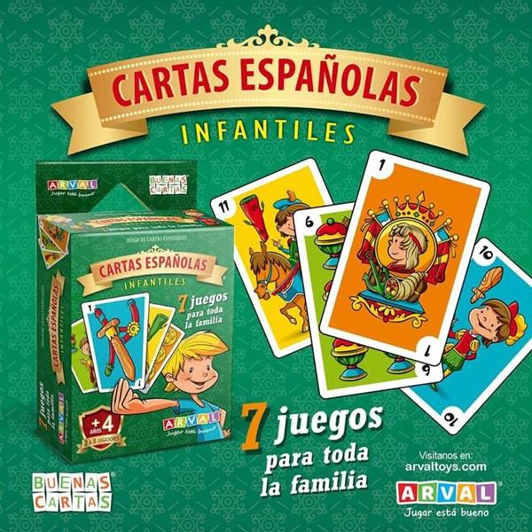 JUG CARTAS ESPAÑOLAS INFANTILES 1008