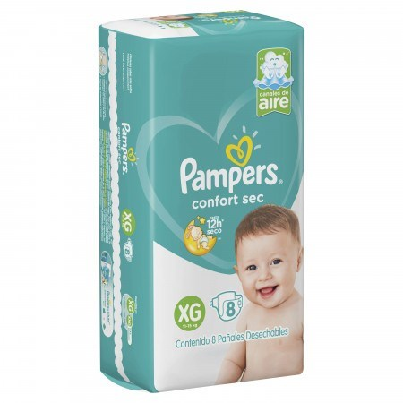 Pampers - Corfort Sec Xg (cant. 8)