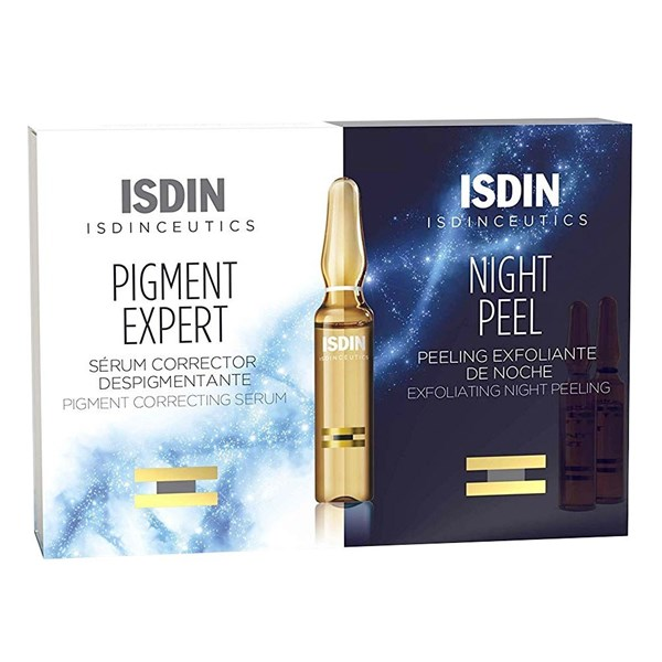 Isdin Ampollas Isdinceutics Pigment+night Peel 10+10 X 20 Ampollas