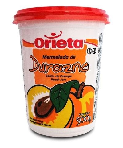 MERMELADA ORIETA POT.DURAZNO x 500 G #1