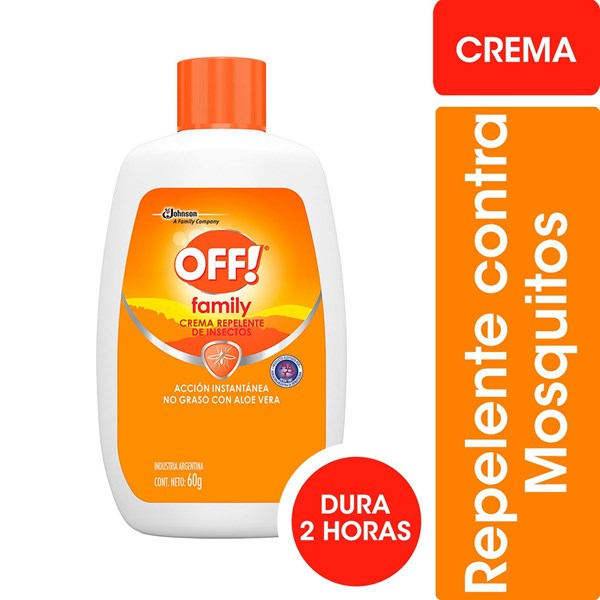 Off Repelente Crema Family Active x60g