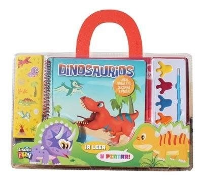 Dinosaurios Valijita A Leer Y Pintar