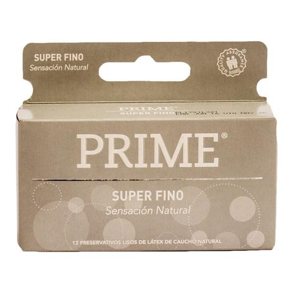 Prime Preservativo Super Fino X 12