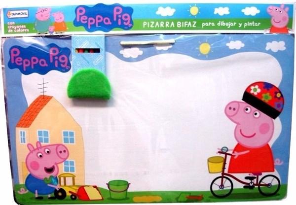 Pizarra Bifaz Peppa Pig  alt