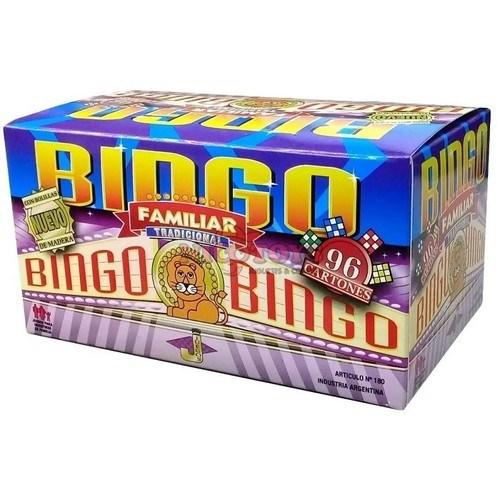 Bingo Familiar Tradicional 96 Cartones