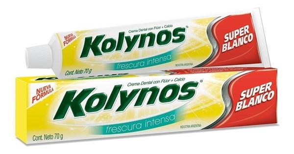 Kolynos Super Blanco Frescura Intensa 70g Den
