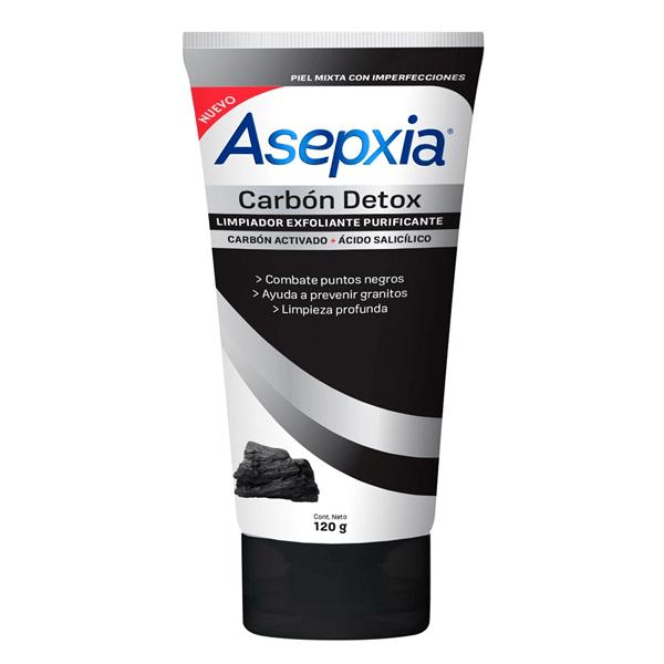 Asepxia Carbón Gel Exfoliante alt
