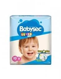 Babysec Ultra Mega-pack XG X18