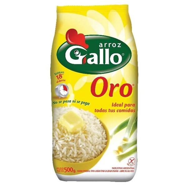 ARROZ GALLO ORO x 500 GRS