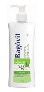 Bagovit Emulsion Nutritiva Humectante Edicion Limitada Te Verde 350 gr
