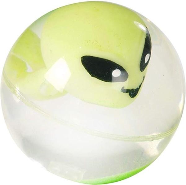 Pelota Saltarina Alien Con Luz x1 alt