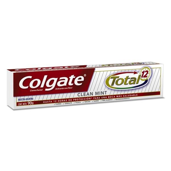 Crema Dental Colgate Total 12 Clean Mint X90grs