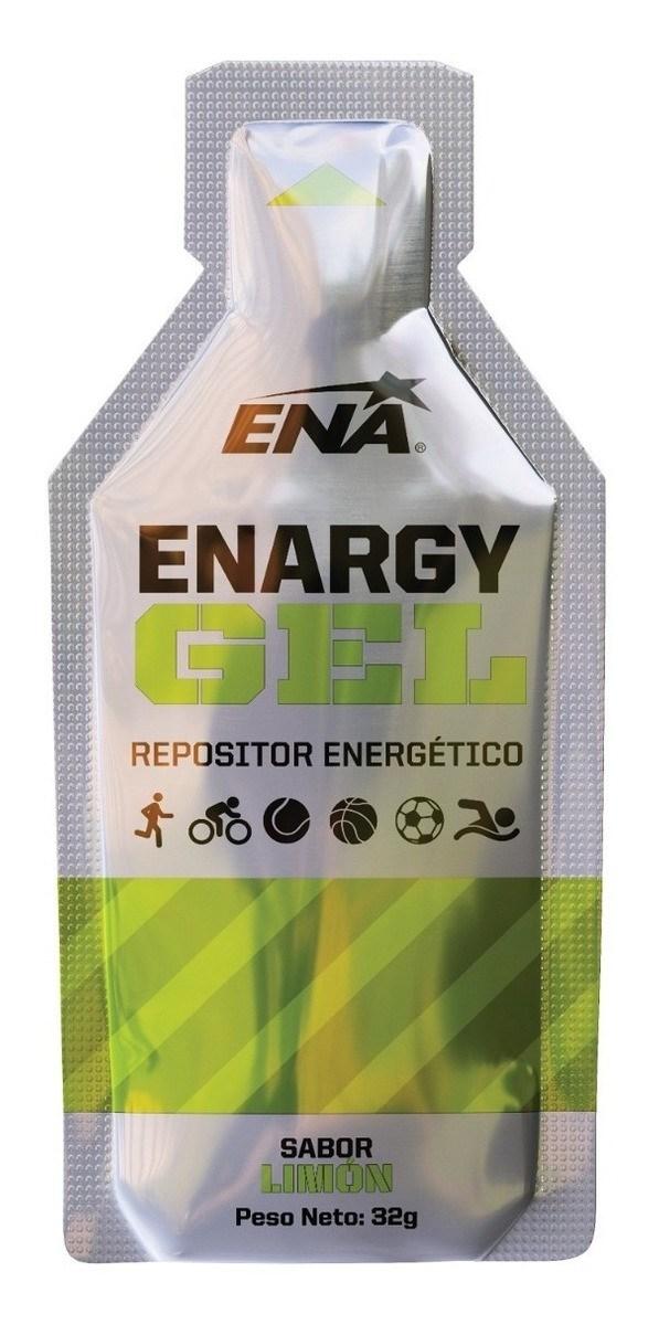 Suplemento ENA Enargy Gel Limón 1 Unidad x32g