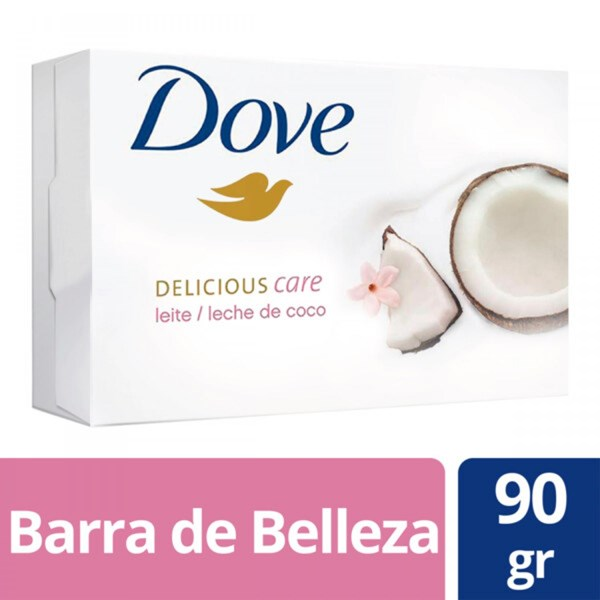 Jabon Dove Leche De Coco X 90 Gr