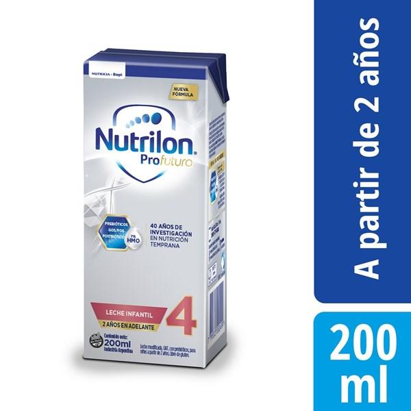 Leche Nutrilon 4 Pro Futura Brick X 200 Ml