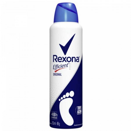 Desodorante Pédico Rexona Efficient Original x 153 ml