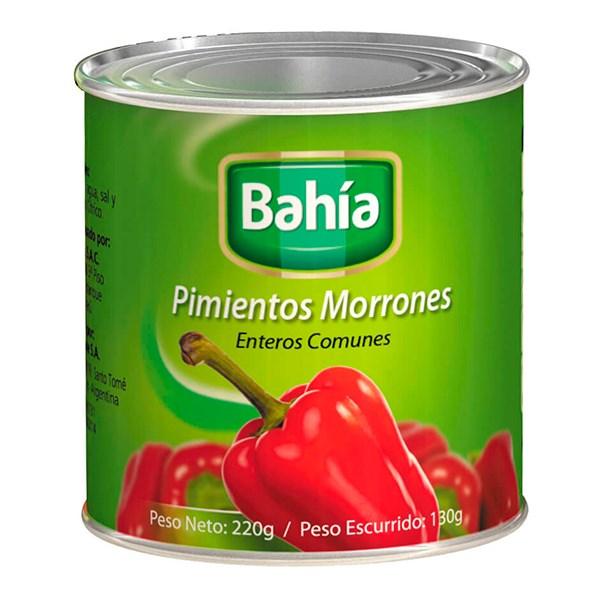 PIMIENTOS MORRONES BAHIA x 198 GRS