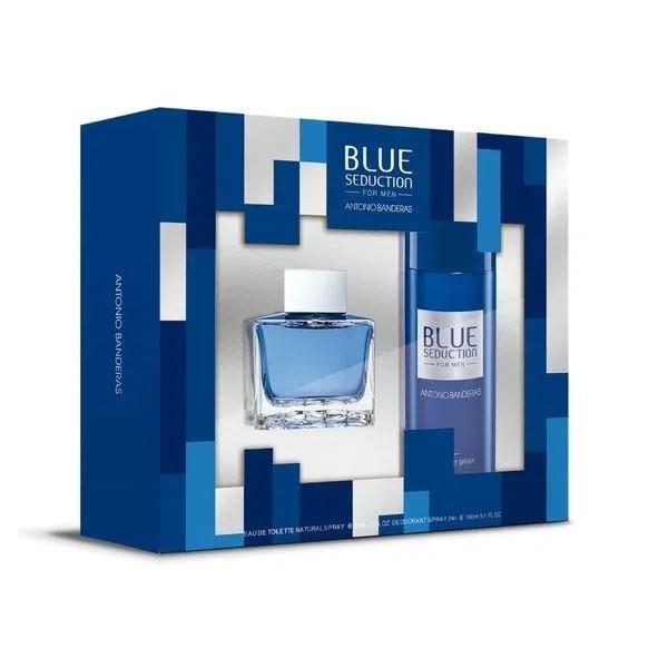 Antonio Banderas Blue Seduction Cofre
