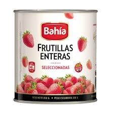 FRUTILLAS AL NATURAL BAHIA x 850 G