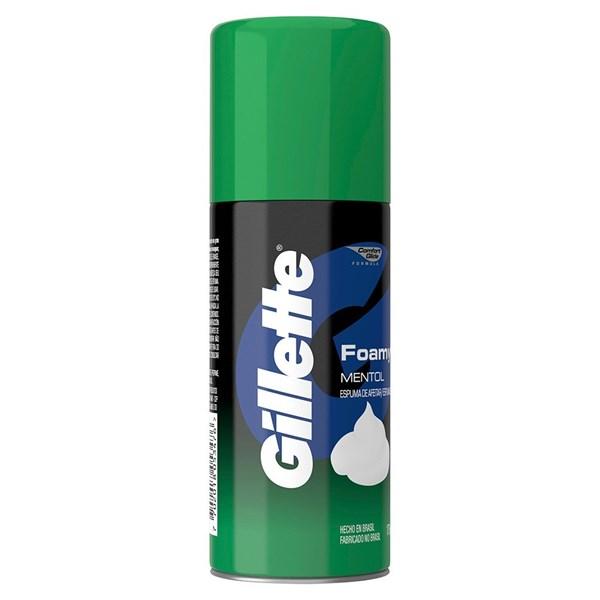 Espuma De Afeitar Gillette Foamy Mentol X 175 Gr alt