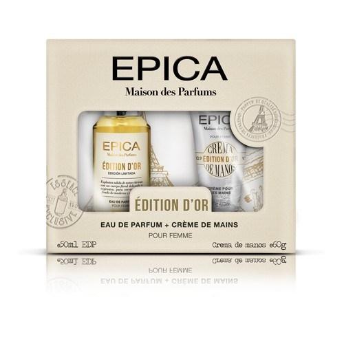 Perfume Epica Maison Des Parfums Cofre D'Or
