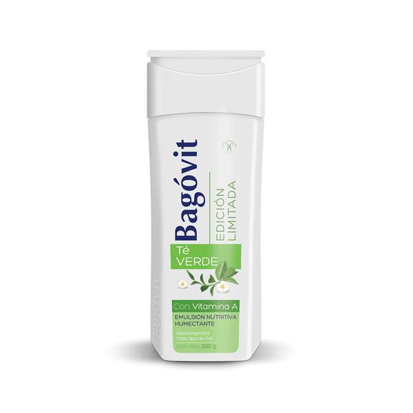 Bagovit Emulsion Nutritiva Humectante Edicion Limitada Te Verde 200 gr