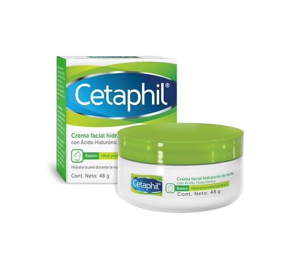 Cetaphil Crema Hidratante Facial Noche X 48 Gr