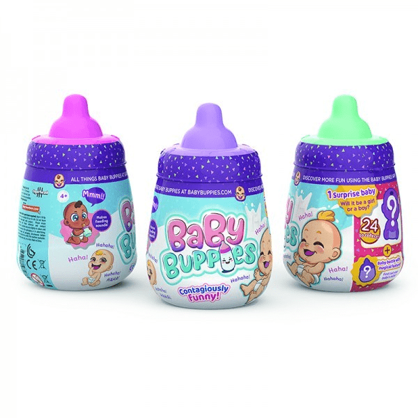 Baby Buppies Muñecos Interactivos Con Accesorios