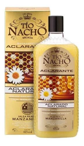 Shampoo A/Caída Aclarante Tío Nacho x 415 ml
