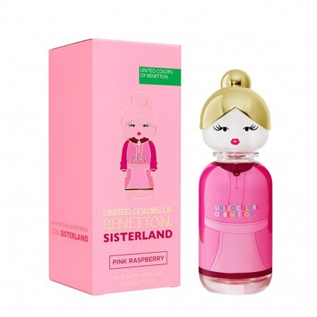 Benetton Sisterland Pink Raspberry EDT X 80 Ml