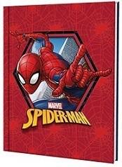Cuaderno Mooving Escolar tapa dura Spiderman