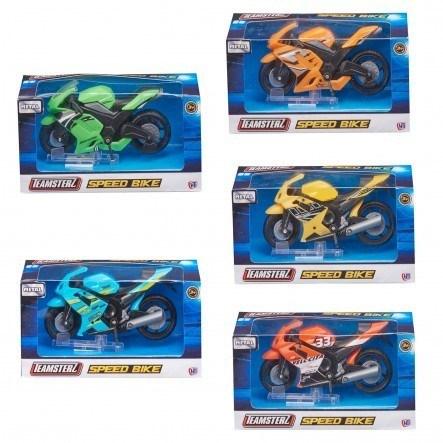Moto Juguete Teamsterz x1  alt