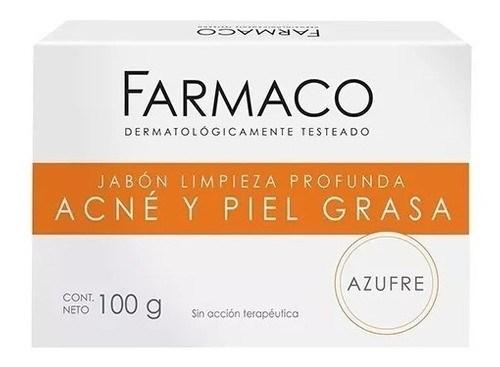 Jabón Farmaco, Azufre 100 g